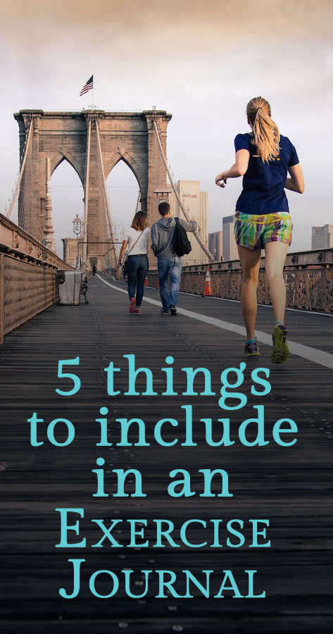 5 things to include in an exercise journal | TextMyJournal