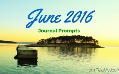 June Journal Prompts