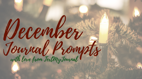December 2016 Journal Prompts