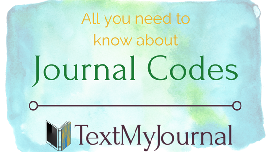 What is a journal code?