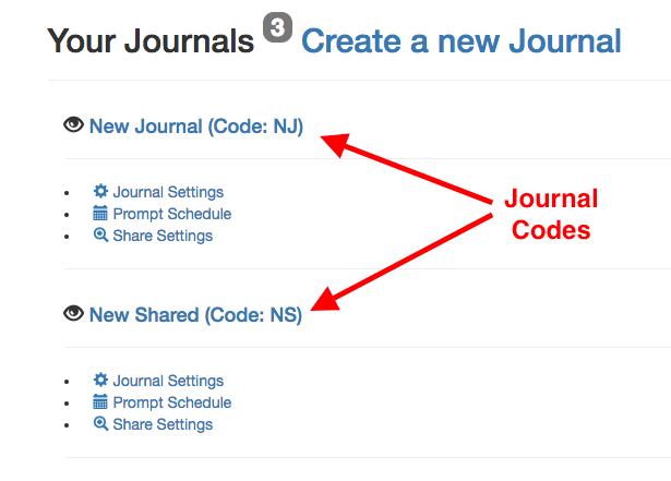 Journal Code